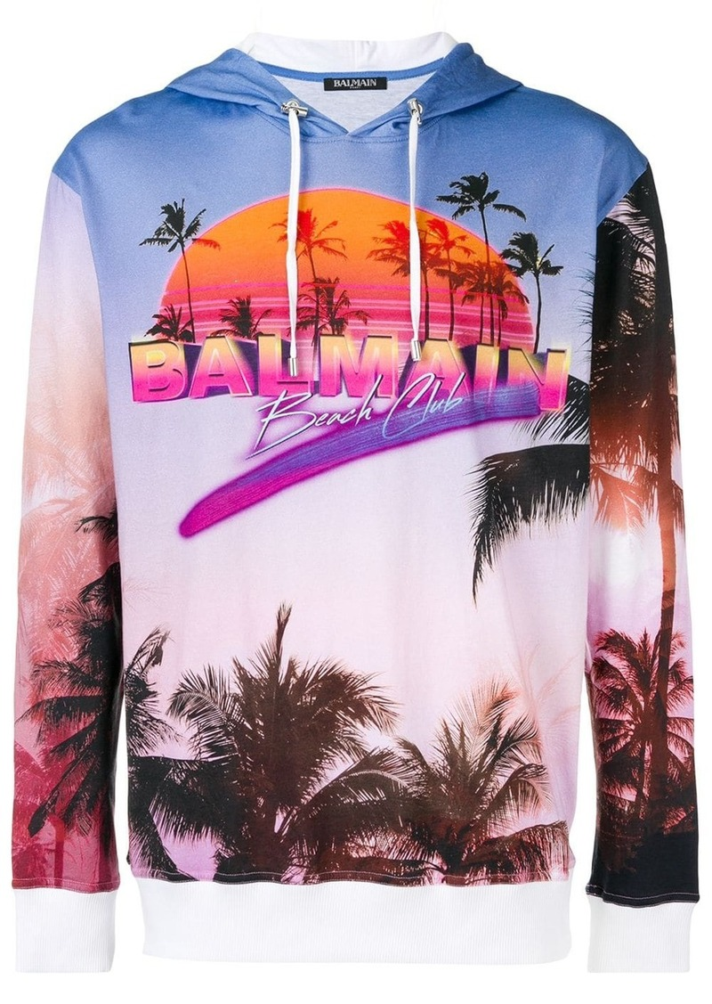 Balmain beach club hoodie