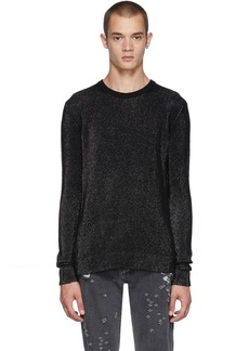 Balmain Black & Silver Lurex Sweater