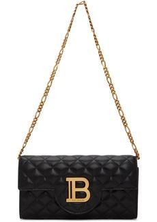 Balmain Black B-Wallet Chain Bag