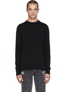 Balmain Black Wool Sweater