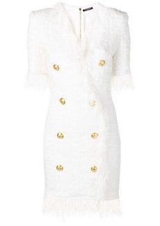 Balmain blazer tweed dress