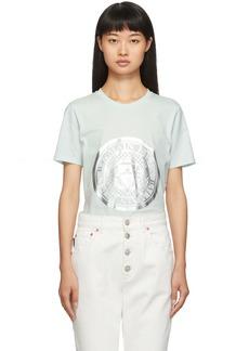 Balmain Blue Coin T-Shirt