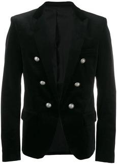 Balmain button detail blazer jacket