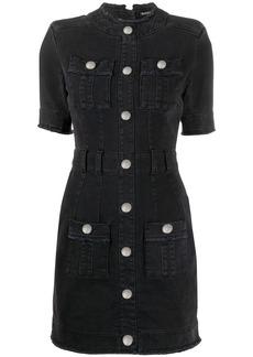 Balmain button front dress