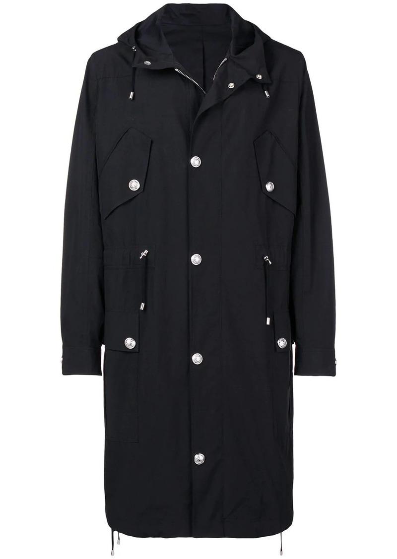 Balmain buttoned long sleeved jacket