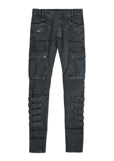 Balmain Cargo Skinny Jeans