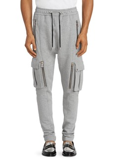 Balmain Cargo Sweatpants