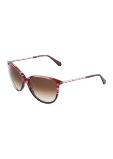 Balmain Cat-Eye Acetate Sunglasses