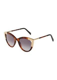 Balmain Cat-Eye Tortoiseshell Acetate Sunglasses