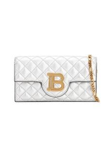 Balmain Chain Leather Phone Case Bag