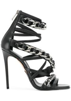 Balmain chain strap sandals