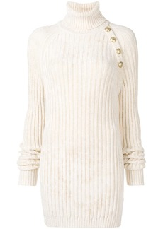 Balmain chunky-knit dress
