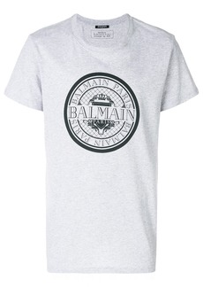 Balmain circle logo T-shirt