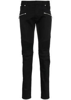 Balmain classic biker skinny jeans