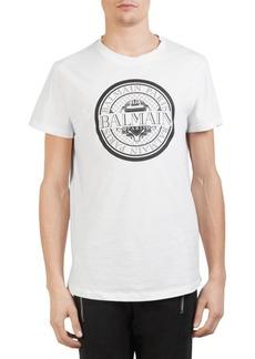Balmain Coin Logo Tee