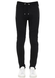 Balmain Cotton Jersey Sweatpants