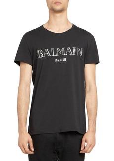 Balmain Cotton Logo Tee