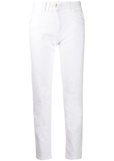 Balmain cropped slim fit jeans