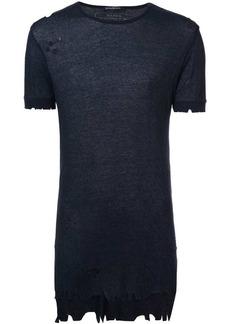 Balmain distressed T-shirt