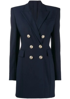Balmain double breasted blazer dress