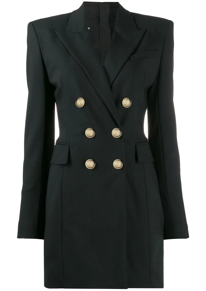 Balmain double-breasted blazer dress