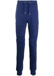 Balmain drawstring cotton track pants