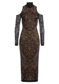 Balmain Dress with Lace Overlay
