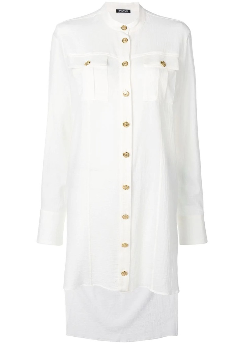Balmain elongated loose blouse