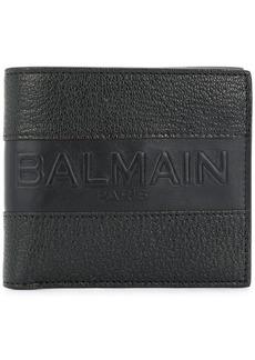 Balmain embossed logo wallet