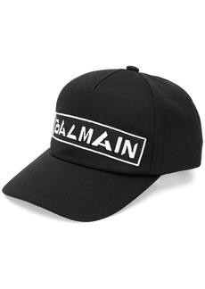 Balmain embroidered logo cap