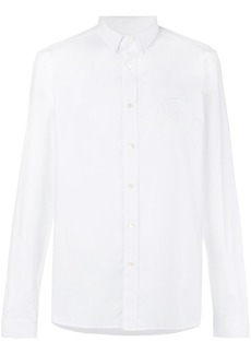 Balmain embroidered logo shirt