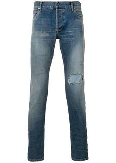 Balmain faded skinny jeans