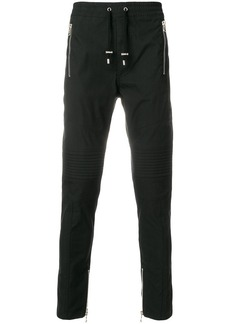 Balmain fitted casual trousers