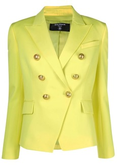 Balmain fitted double-breasted blazer