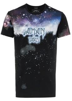 Balmain Galaxy logo print T-shirt