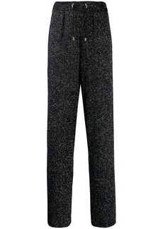 Balmain glittery trousers