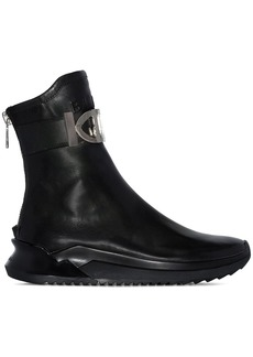 Balmain Glove leather boots