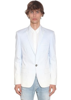 Balmain Gradient Dyed Cotton Blazer