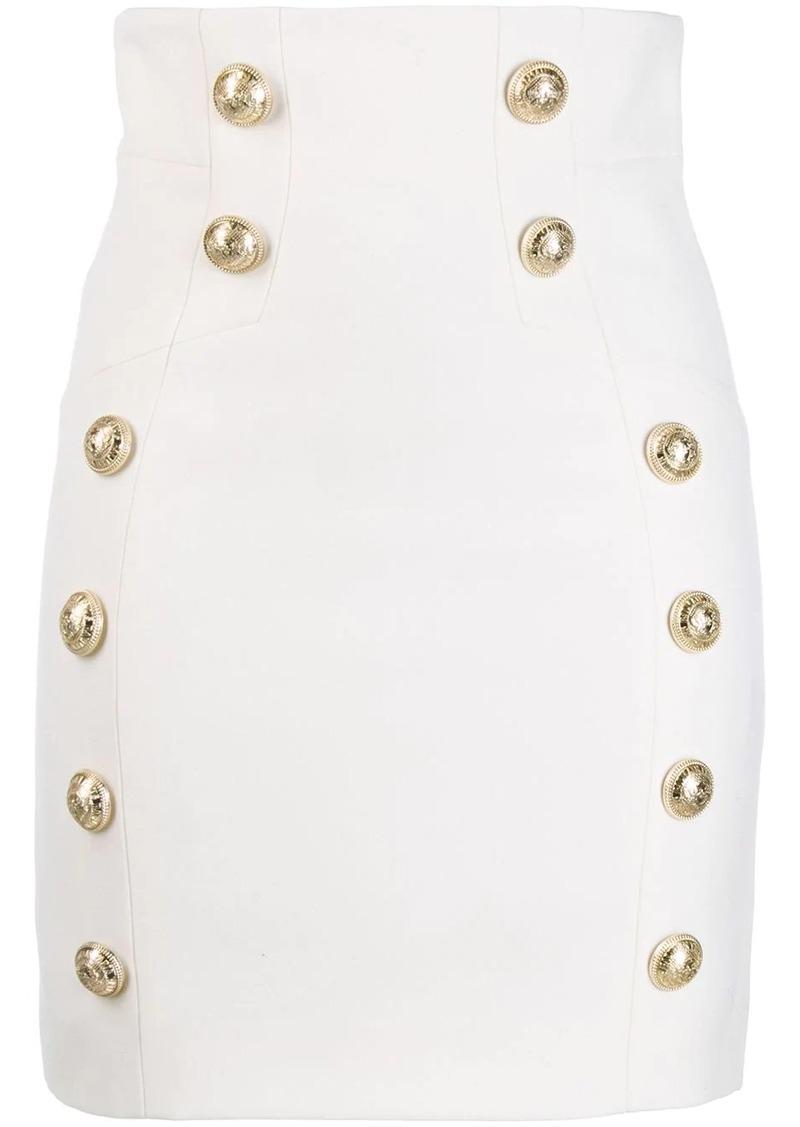 Balmain grain de poudre skirt