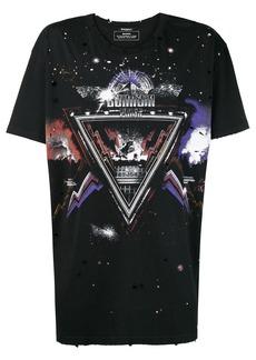 Balmain graphic T-shirt