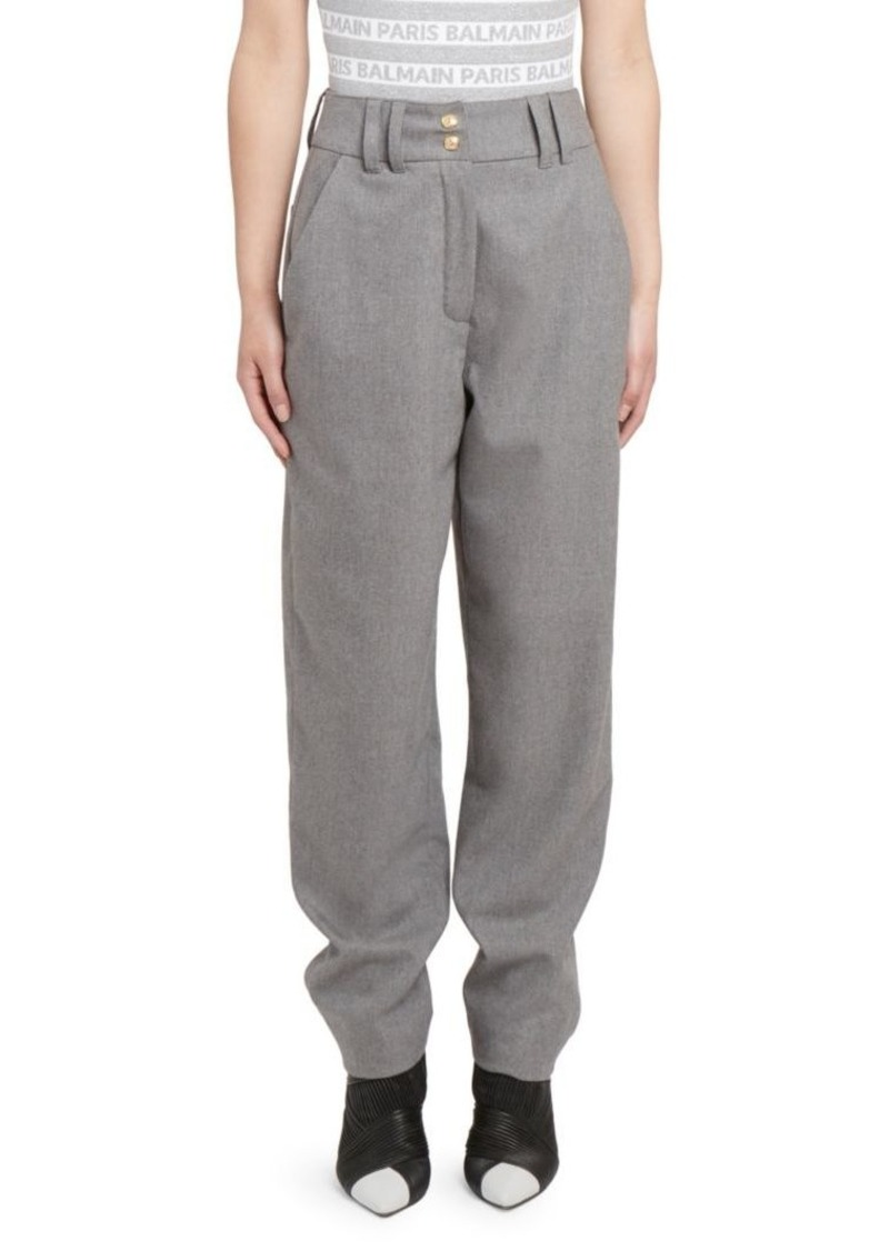 Balmain High-Rise Pants