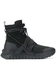 Balmain high-top lace sneakers