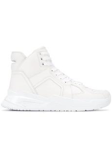 Balmain high-top lace-up sneakers