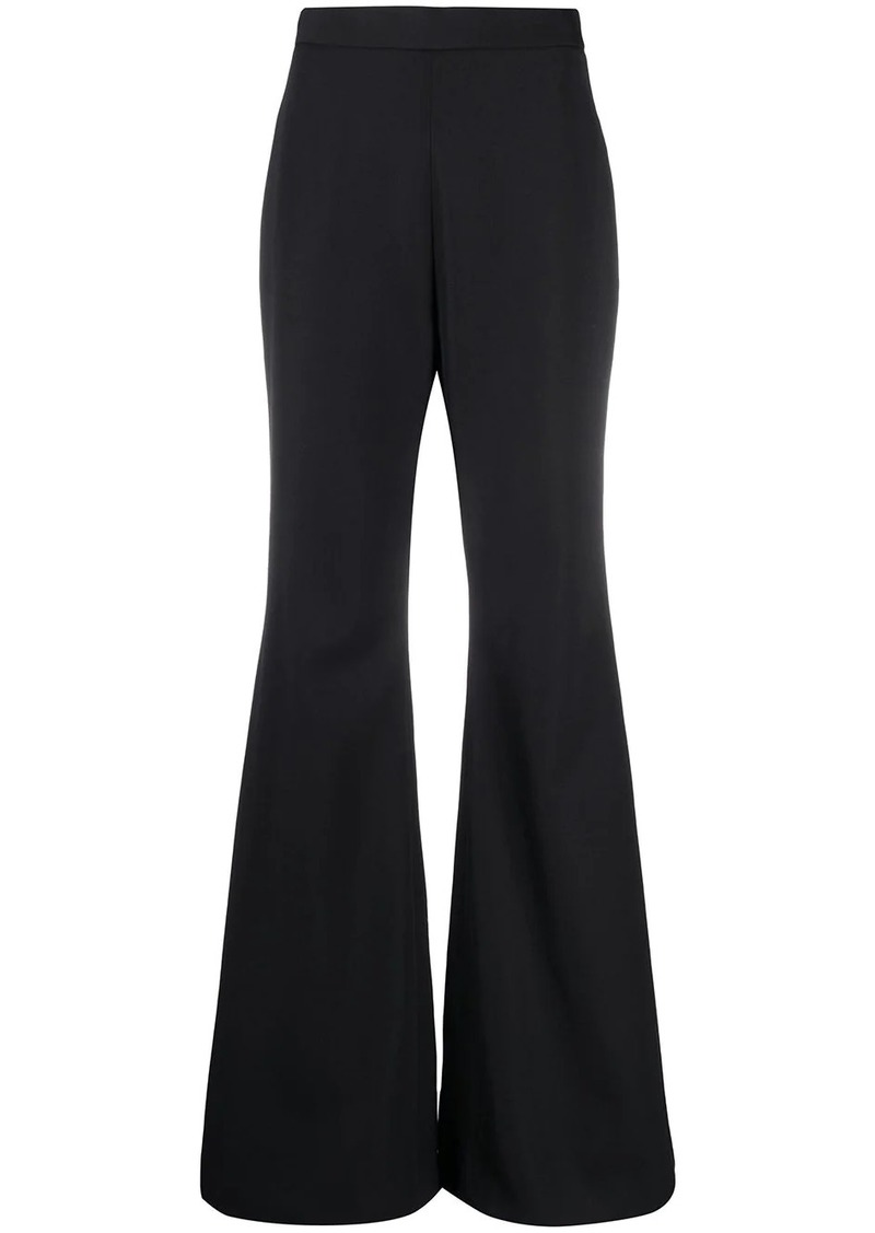 Balmain high-waist palazzo trousers