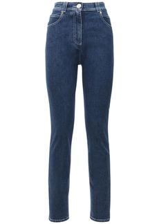Balmain High Waist Skinny Jeans