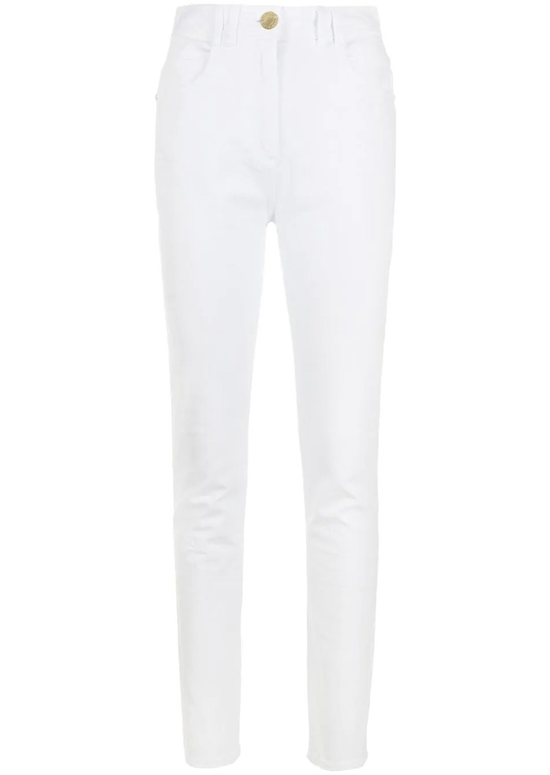 Balmain high-waisted skinny jeans