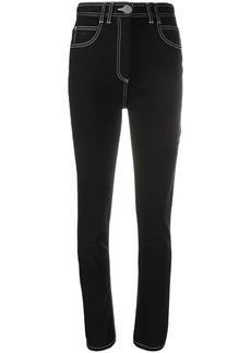 Balmain high-waisted skinny jeans