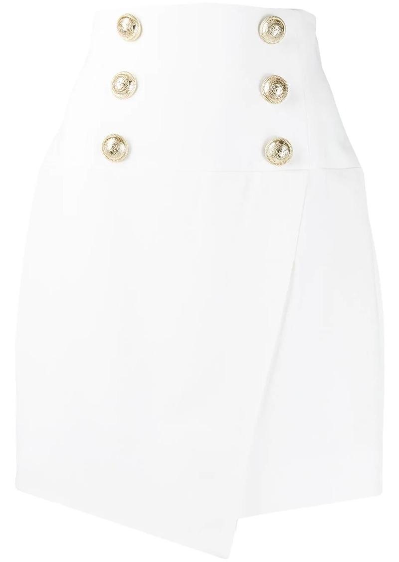 Balmain high-waisted skirt