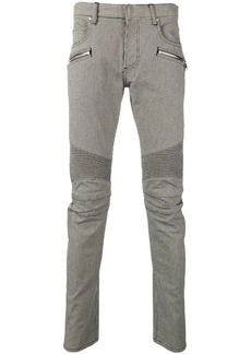 Balmain houndstooth skinny trousers