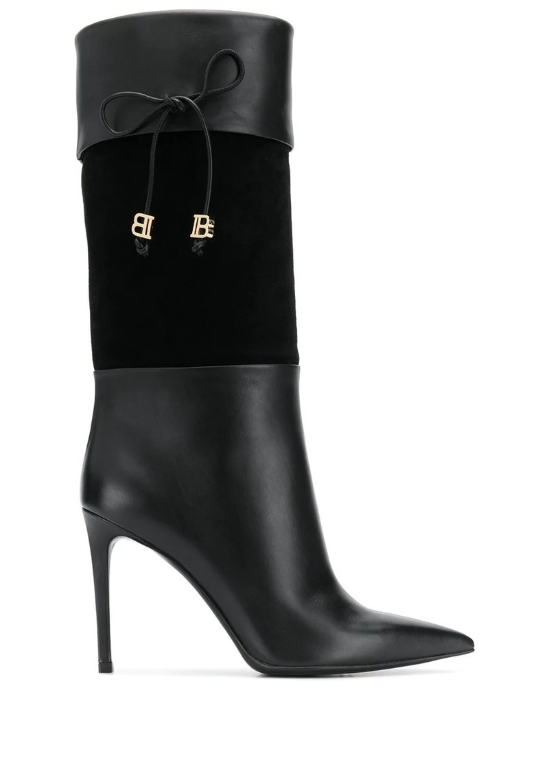 Balmain knee-length BB boots